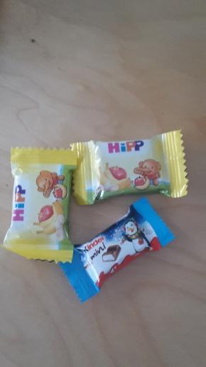 Schokolade und was Süßes muss auch dabei sein